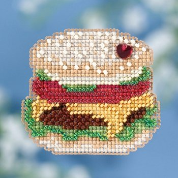 Barbeque Cross Stitch Kit Mill Hill 2013 Buttons /& Beads Spring