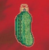 Mill Hill 2017 Winter Holiday Ornament - Christmas Pickle THUMBNAIL
