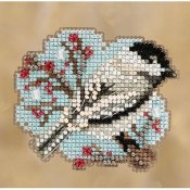 Mill Hill 2018 Winter Holiday Ornament - Little Chickadee THUMBNAIL