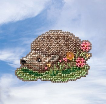 Mill Hill Spring Bouquet 2019 Ornament - Hedgehog MAIN