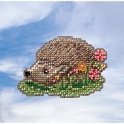 Mill Hill Spring Bouquet 2019 Ornament - Hedgehog THUMBNAIL