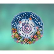 Mill Hill Spring Bouquet 2020 Ornament - Spring Ahead THUMBNAIL