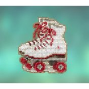 Mill Hill Spring Bouquet 2020 Ornament - Roller Skates THUMBNAIL