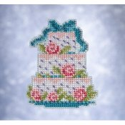 Mill Hill Spring Bouquet 2021 Ornament - Frosted Cake THUMBNAIL
