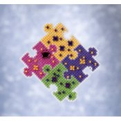Mill Hill Spring Bouquet 2021 Ornament - Puzzled THUMBNAIL