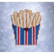 Mill Hill Spring Bouquet 2021 Ornament - French Fries THUMBNAIL