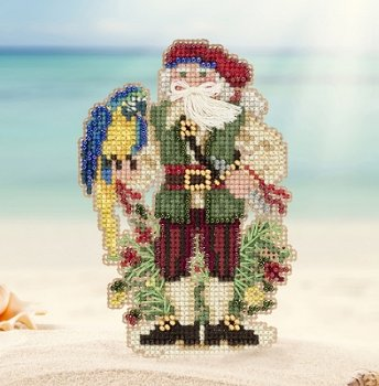 Mill Hill Bead Kit Caribbean Santas - Trinidad Santa MAIN