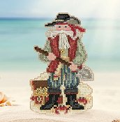 Mill Hill Bead Kit Caribbean Santas - Barbados Santa THUMBNAIL