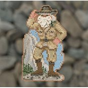 Mill Hill Bead Kit National Park Santas - Yosemite Santa THUMBNAIL