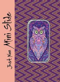 Just Nan - Needle Slide - Lavender Lady Owl Mini Slide MAIN