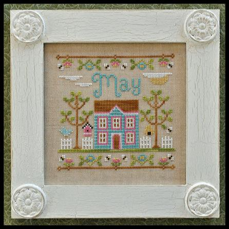 Country Cottage Needleworks - Cottage of the Month - May Cottage MAIN