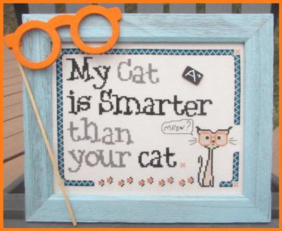 Designs by Lisa - My Cat is Smarter