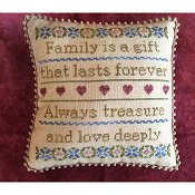Needle Bling Designs - Family is a Gift THUMBNAIL