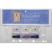 Nora Corbett - Poison Pixies - Angel White Trumpet Embellishment Pack
