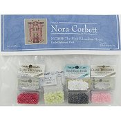 Nora Corbett - Holiday Village - The Pink Edwardian House Embellishment Pack THUMBNAIL