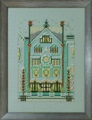Nora Corbett - Holiday Village - The Clockmaker's House THUMBNAIL