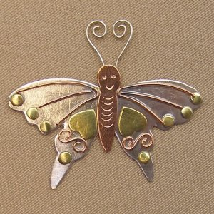 Puffin & Company Magnetic Needle Nanny - Butterfly MAIN