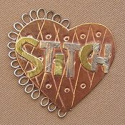 Puffin & Company Magnetic Needle Nanny - Stitch Heart