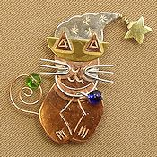 Puffin & Company Magnetic Needle Nanny - Witches' Kitty THUMBNAIL
