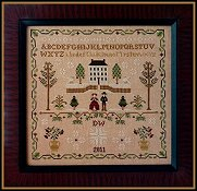 Little House Needleworks - New England Winter Sampler THUMBNAIL