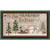 Little House Needleworks - North Pole Express Chart Pack