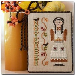 Little House Needleworks - Calendar Girl #11 - November MAIN