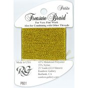 Rainbow Gallery Petite Treasure Braid PB01 Bright Gold THUMBNAIL