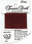 Rainbow Gallery Petite Treasure Braid PB19 Dark Red THUMBNAIL