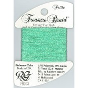 Rainbow Gallery Petite Treasure Braid PB203 Shimmer Seafoam THUMBNAIL