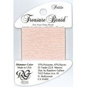 Rainbow Gallery Petite Treasure Braid PB209 Shimmer Pink Carnation THUMBNAIL
