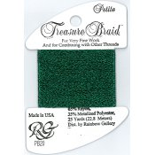 Rainbow Gallery Petite Treasure Braid PB20 Dark Green_THUMBNAIL