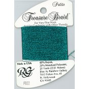 Rainbow Gallery Petite Treasure Braid PB22 Dark Turquoise THUMBNAIL