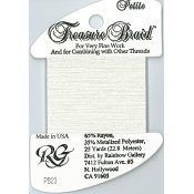 Rainbow Gallery Petite Treasure Braid PB23 Snow THUMBNAIL