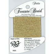 Rainbow Gallery Petite Treasure Braid PB25 Old Gold THUMBNAIL
