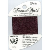 Rainbow Gallery Petite Treasure Braid PB29 Burgundy_THUMBNAIL