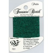 Rainbow Gallery Petite Treasure Braid PB31 Evergreen THUMBNAIL