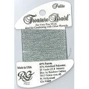 Rainbow Gallery Petite Treasure Braid PB32 Pewter THUMBNAIL