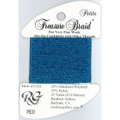 Rainbow Gallery Petite Treasure Braid PB33 Blue THUMBNAIL