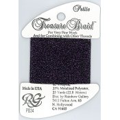 Rainbow Gallery Petite Treasure Braid PB34 Deep Purple THUMBNAIL