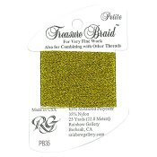 Rainbow Gallery Petite Treasure Braid PB35 Lite Antique Gold THUMBNAIL