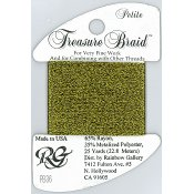 Rainbow Gallery Petite Treasure Braid PB36 Antique Gold THUMBNAIL