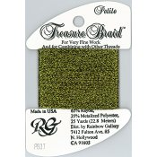Rainbow Gallery Petite Treasure Braid PB37 Dark Antique Gold THUMBNAIL