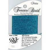 Rainbow Gallery Petite Treasure Braid PB38 Azure Blue THUMBNAIL