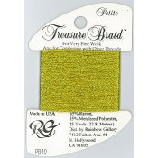 Rainbow Gallery Petite Treasure Braid PB40 Egyptian Gold THUMBNAIL