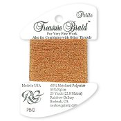 Rainbow Gallery Petite Treasure Braid PB42 Autumn Orange THUMBNAIL