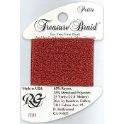 Rainbow Gallery Petite Treasure Braid PB44 Autumn Red THUMBNAIL