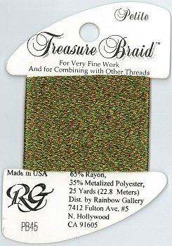 Rainbow Gallery Petite Treasure Braid PB45 Christmas MAIN