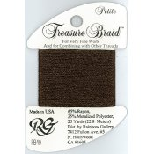 Rainbow Gallery Petite Treasure Braid PB49 Brown THUMBNAIL