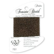 Rainbow Gallery Petite Treasure Braid PB51 Dark Chocolate THUMBNAIL