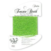 Rainbow Gallery Petite Treasure Braid PB52 Lighter Green THUMBNAIL